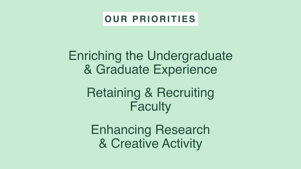List of 3 CAL Priorities