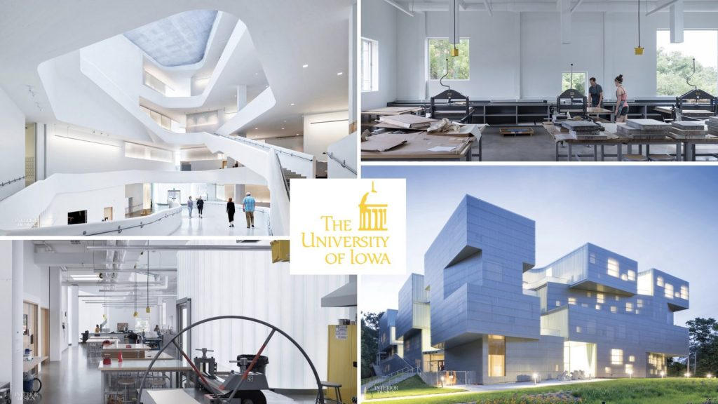 Collage of the University of Iowa