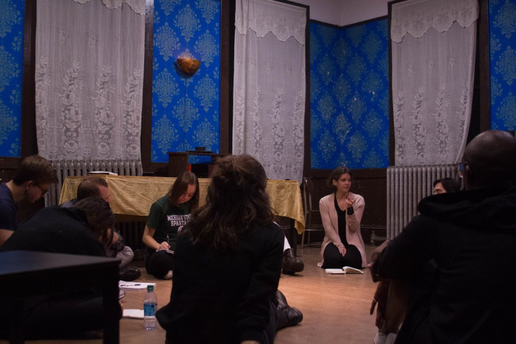 Photo of the theatre workshop at Third Rail Projects
