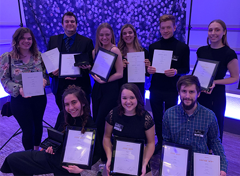 College of Arts & Letters Students Take All Judge's Choice ADDY Awards