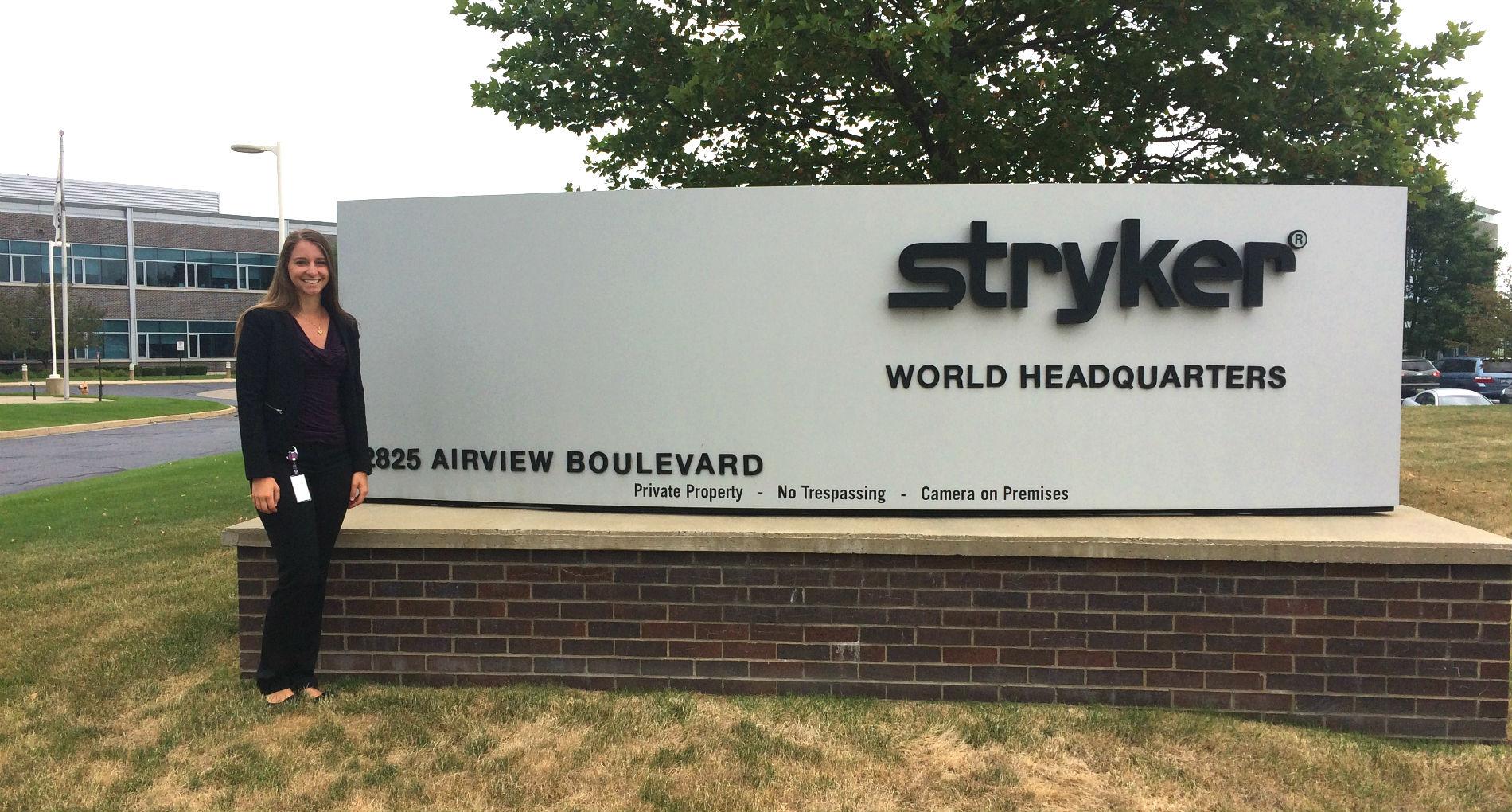 Attaining Hands-On Experience at Stryker Internship