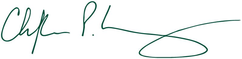 Signature of Christopher P. Long