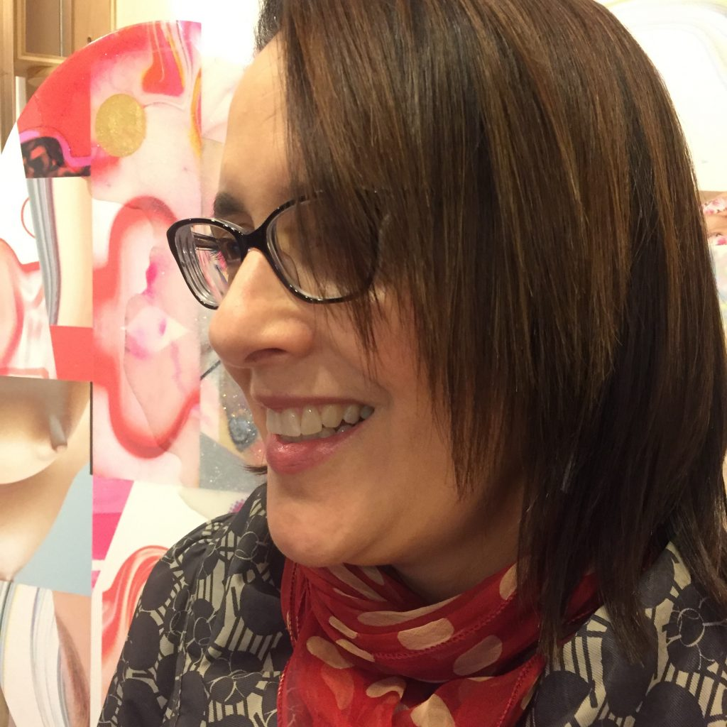 Alisa Henriquez: woman with glasses and brown hair