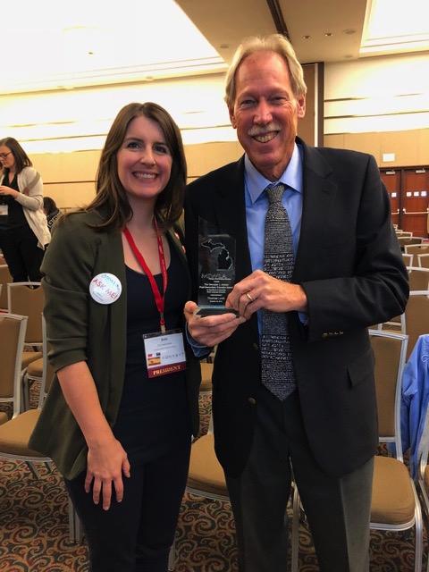 Professor Receives Teaching Award