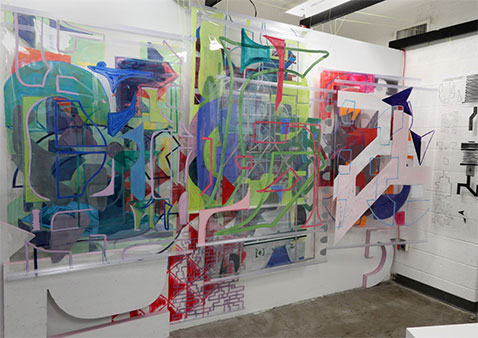 Exhibit Showcases Research by MFA Candidates