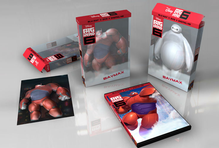 picture of all box sets and covers of big hero 6