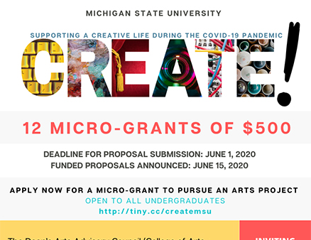 Micro-Grants Offered for Art Projects That Address COVID-19