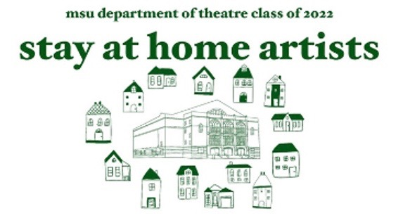 white background with green text and green drawn houses