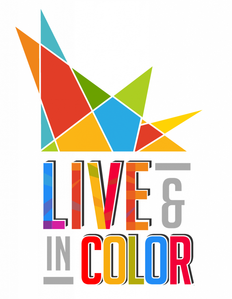 colorful text with a white background