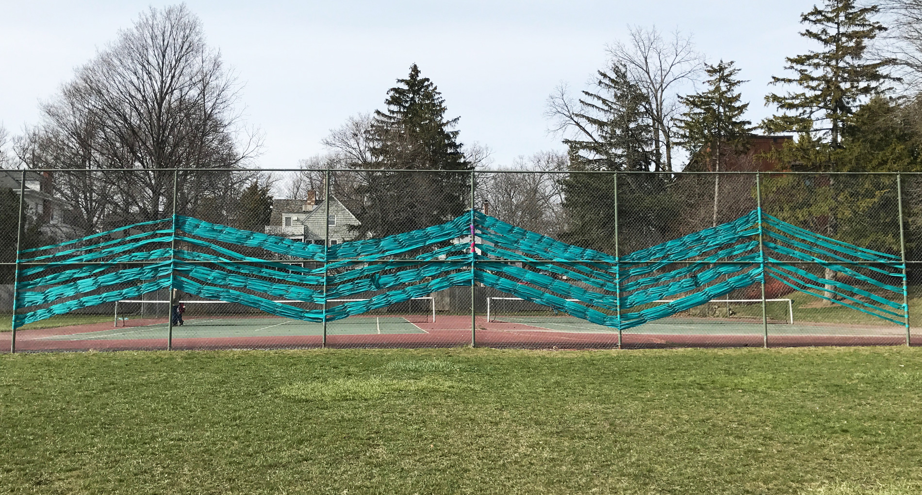 Citizen Scholars Install Sexual Assault Awareness Public Art