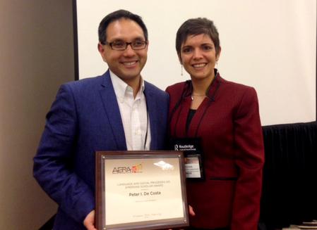 De Costa Presented with Emerging Scholar Award