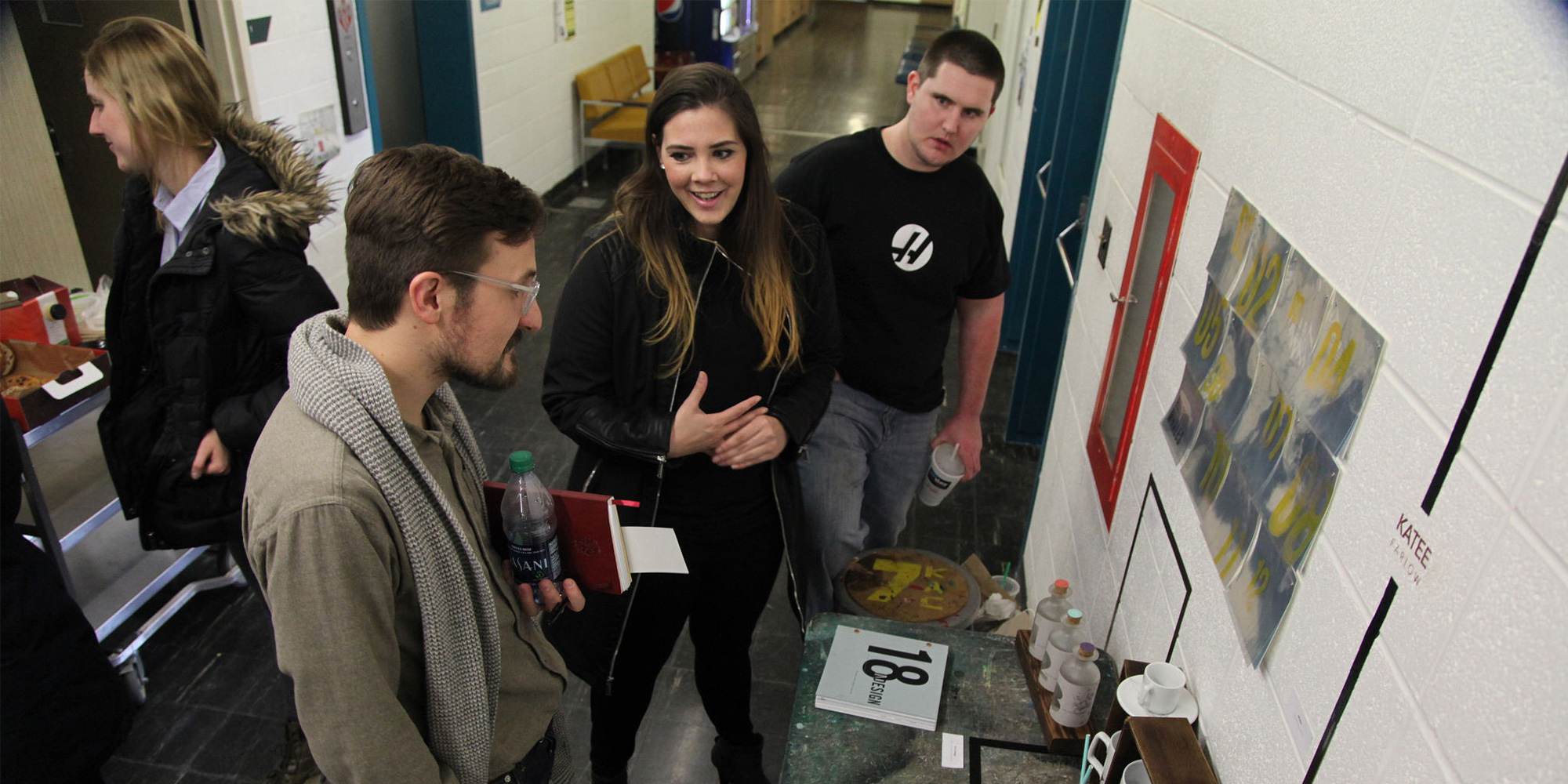 AAHD's Graphic Design Program Holds Day of Design
