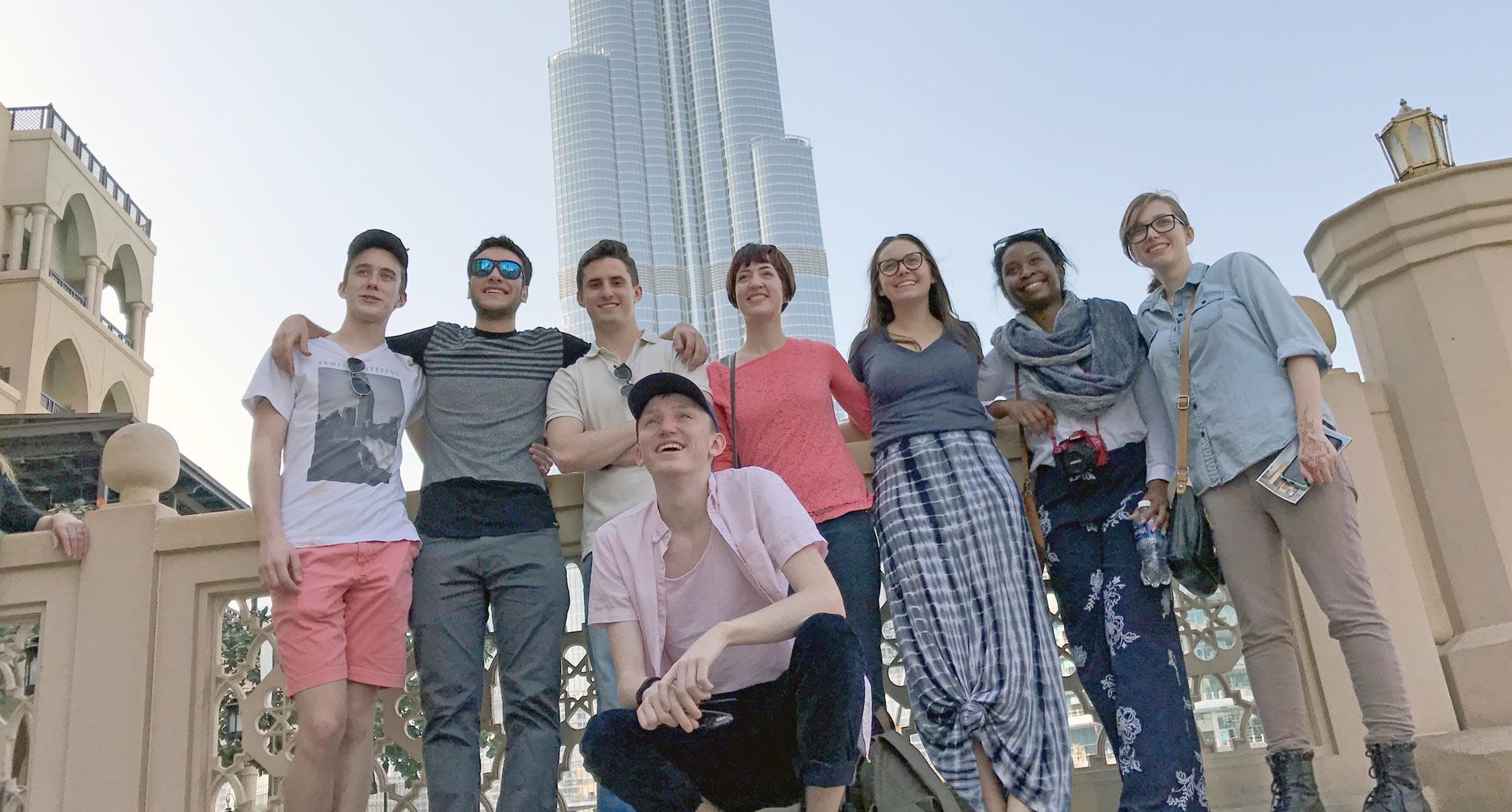 Theatre Students Travel to Dubai for International Festival