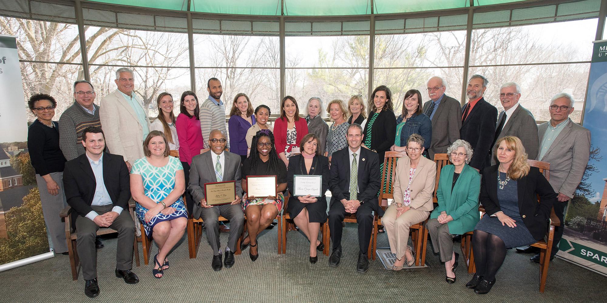 CAL Alumni Association Presents Faculty Awards