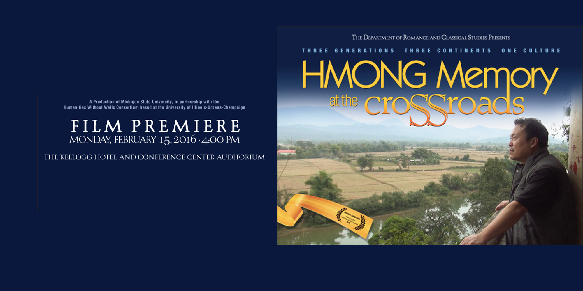 'Hmong Memory at the Crossroads' Film Premiere