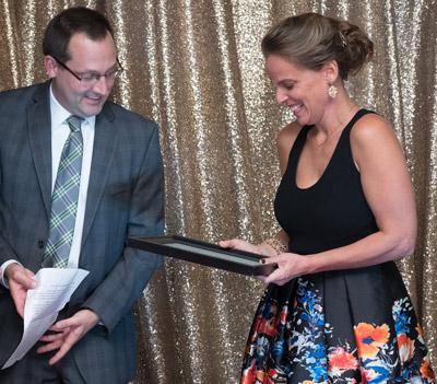 Ann Folino White Receives Teaching Award