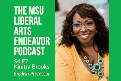 LAE Podcast Hosts Associate Professor Kinitra Brooks