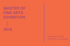 Master of Fine Arts Exhibition on Display March 17-April 8