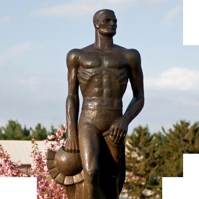 the spartan statue