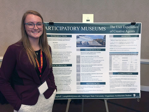 Undergraduate Student Wins First Place Research Award