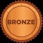 icon of a bronze badge