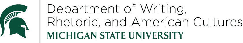 logo for Department of Writing, Rhetoric, and American Cultures
