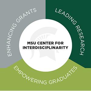 circle logo for MSU Center for interdisciplinary