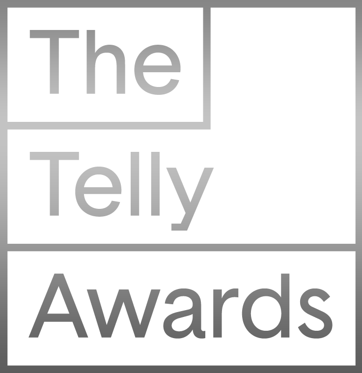 """icon for silver """"The Telly Awards"""" badge"""