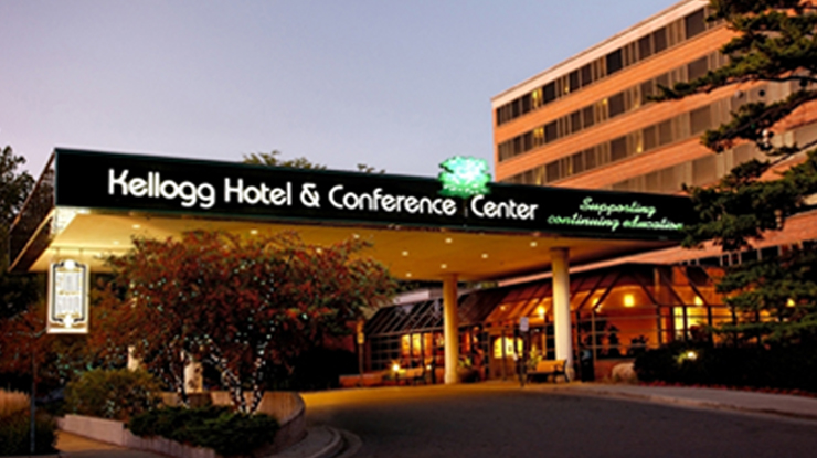 Front of the Kellog Hotel & Conference Center