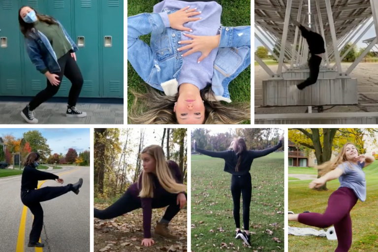 Choreography, Composition, and Collaboration with East Lansing High School
