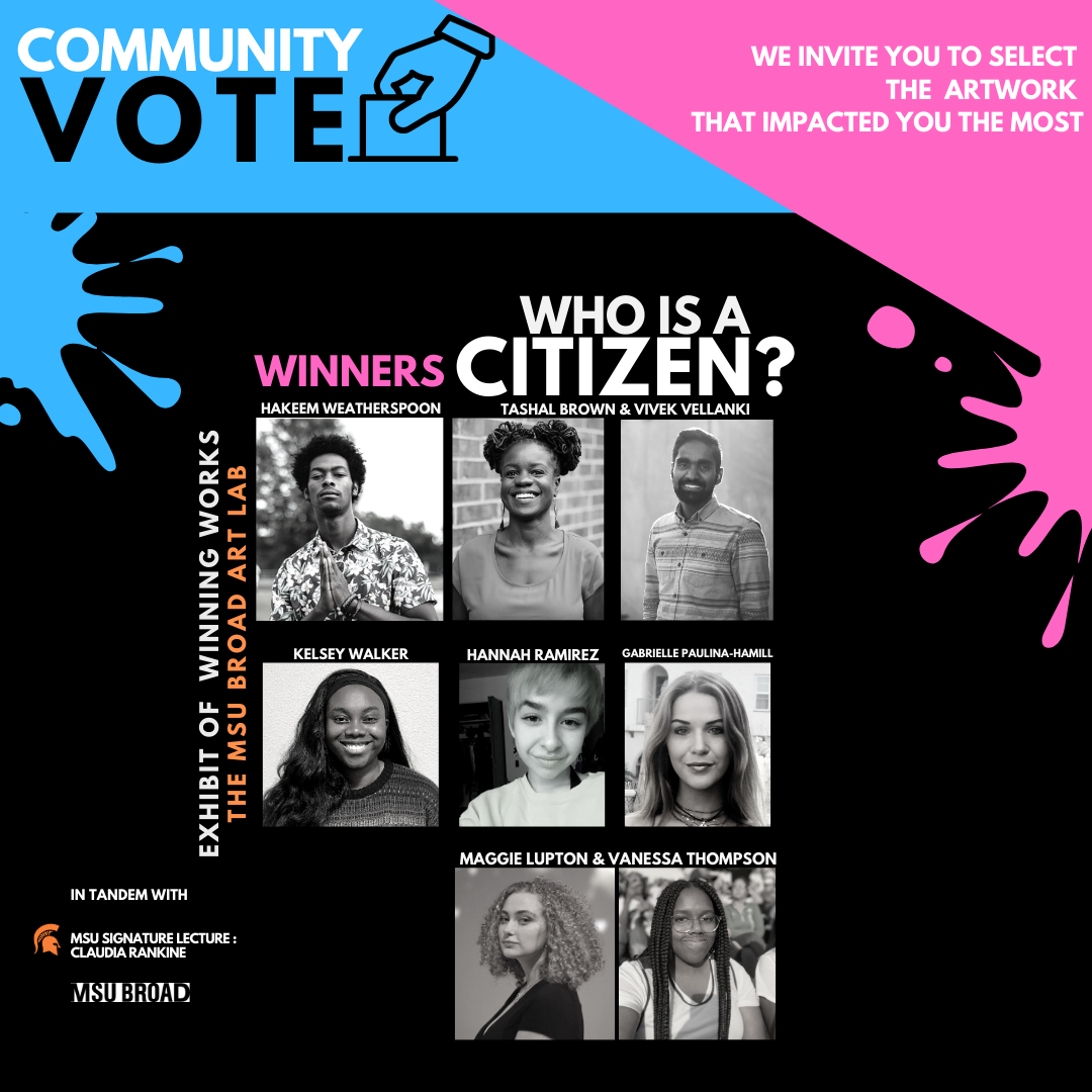 Community Vote to Determine Final 'Who Is a Citizen?' Prize