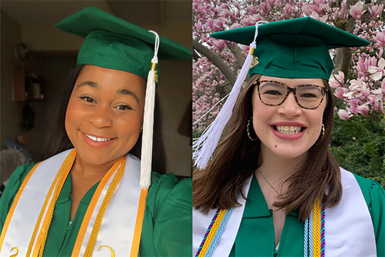 Two Graduates Selected as Commencement Speakers