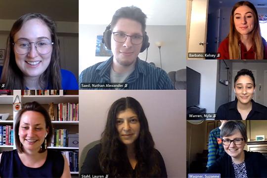MI Diaries Project Sees Seven Team Members Graduate