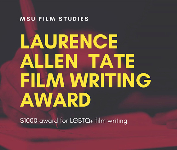 Laurence Allen Tate Film Writing Awards Announced