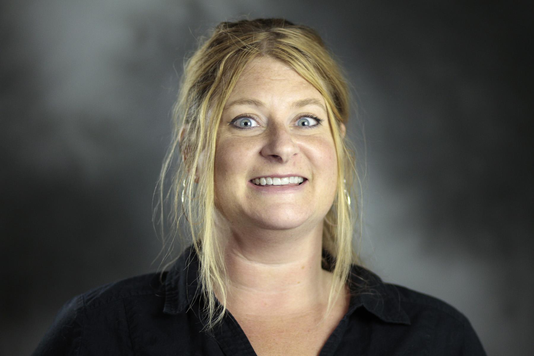 Headshot of Professor Dànielle DeVoss.