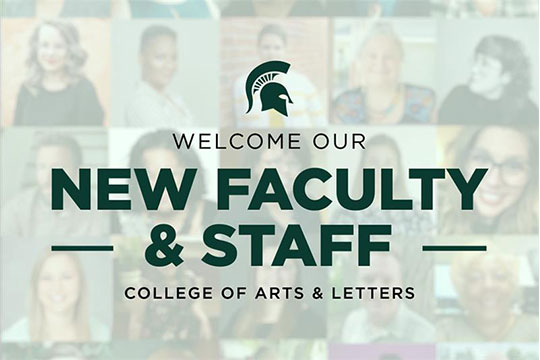 College Welcomes 27 New Faculty and Staff Members