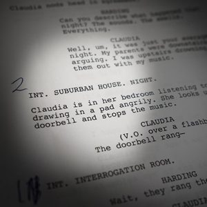 a script for a play